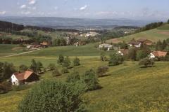 Allenberg. Blick Rtg Zelg, Kiesgrube, Rigi