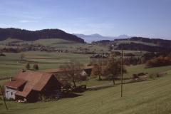 Blick von Halde Wappenswil, Stöck, Rigi