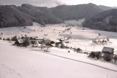 Allenberg. Blick auf Bettswil im Winter