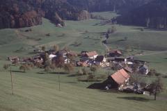 Allenberg. Blick auf Halde, Bettswil, Obis