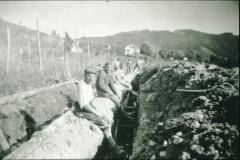 Bau der Wasserversorgung für Bettswil