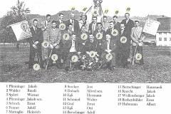 Militärschiessverein Bettswil mit Namen (Ausschnitt)