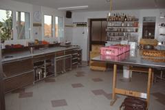 Bäckerei Meier, alter Teil der Backstube