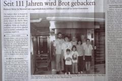 Fotoreportage Bäckerei Meier 1998