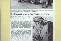Bäckerei Meier, Artikel im ZO, alt Bäcker  Meier
