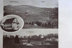 Postkarte Schule Berg - Fehrenwb.. - Ghöch
