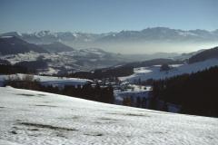 Blick von der Waldsberghöchi Ritg. Alpen