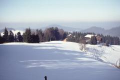 ,Berghof' im Winter