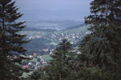 Blick vom Berhof Ritg. Bettswil-Pfäffikersee
