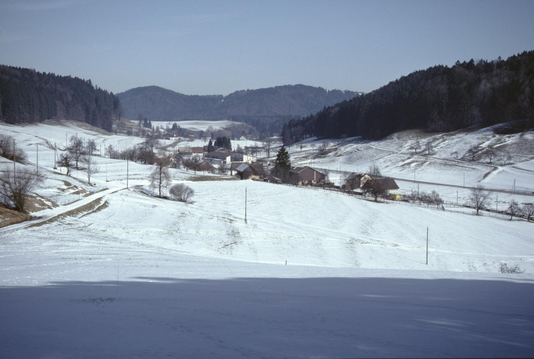 Blick von der alten Engelsteinstr. aus