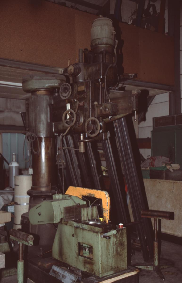 Schlosserei Wäfler, Maschine