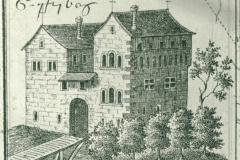 Schloss Gryffenberg in den Jahren 1470 – 90
