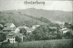 Postkarte Hinterburg