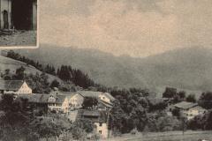 Detail von Postkarte ,Gruss aus Hinterburg'