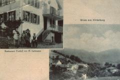 Gruss aus Hinterburg, Rest. Freihof