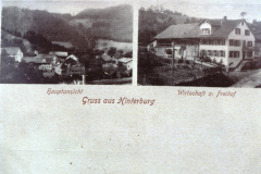 Gruss aus Hinterburg