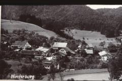 Ansichtskarte Hinterburg