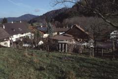 Hinterburg, Blick auf das Dörfchen