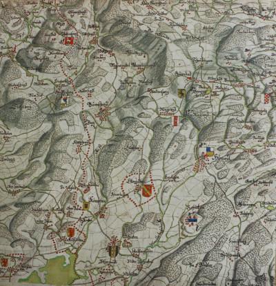 Gygerkarte von 1667