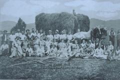 Landwirtschaft, im Heuet 1918, bei Caspar Emil Spörri