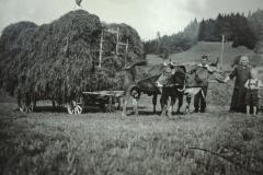 Heufuder, Knabe rechts Pfarrer Ochs