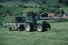 Heuet 1998, Urs Walder Bettswil, Ladewagen