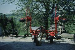 Heuwenden bei Kurt Dubach, Wappenswil