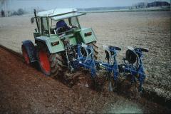 Landwirtschaft, moderner Pflug