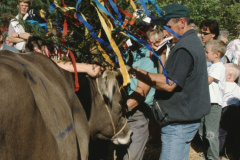 Viehprämierung, Miss Bäretswil wird gekrönt