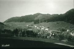 Baumerstr. mit Schulhaus + Kosthäusern