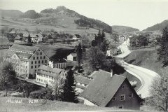 Postkarte Fabrikensemble Neuthal, Blick Richtung Hinterburg, Stollen