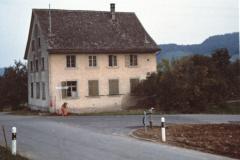 Schulhaus Wappenswil kurz vor Abriss