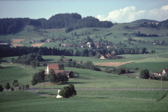 Blick vom Hasenrain, Eichschür, V.Bettswil