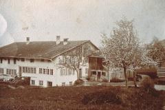 Haus Fischer vor Ausbau