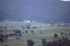 Blick v. d. Rigistr. Rtg Schwarzweid - Platten