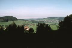 Oberhalb Holenstein       Blick Ritg. Wappenswil  - Letten