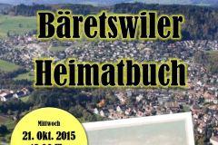 Heimatbuch-Vernissage vom 21.10.2015, Poster