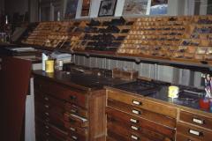 Buchdruckerei Brunner, Setzerei