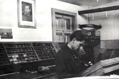 Meinrad Suter, Schriftsetzerlehre bei Druckerei Brunner