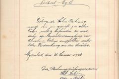Veloclub Buchhaltung 1925