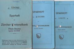 Sparhefte 1943-1972 Männerchor
