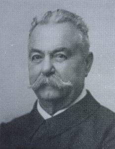 Major Hans Bünzli (1853-1927), Landwirt, Kantonsrat (dem.) und  Gründungspräsident des Landwirtschaftlichen Vereins.