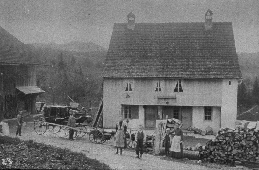 Johannes Stössel wohnte in Vorderbettswil, ging aber aus dem Stamm der Waswies-Stössel hervor. Hier wohl sein Stammhaus in der Waswies.