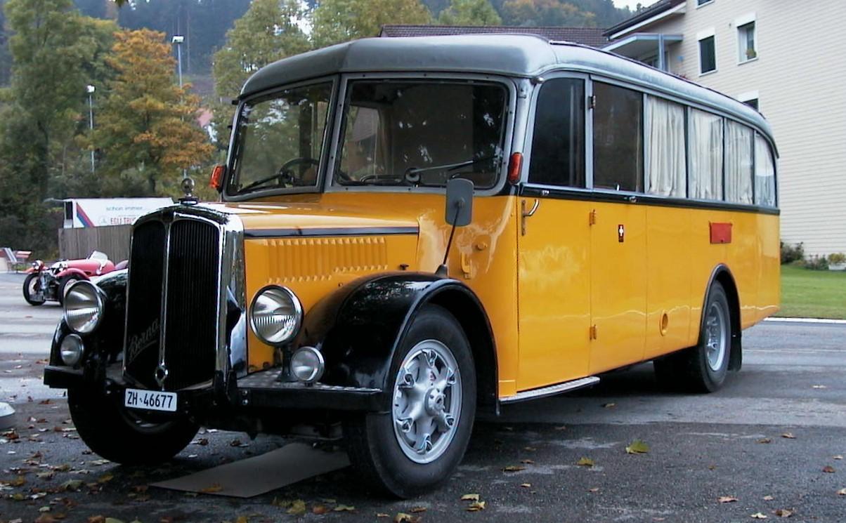 Oldtimer Busse Bäretswil - Wappenswil - Bettswil - Ghöch
