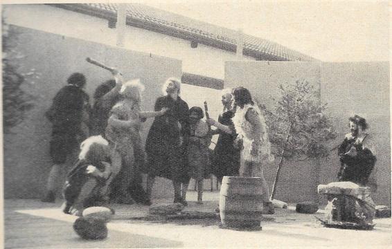Die Adetswiler spielen Alemannen kontra Glaubensboten