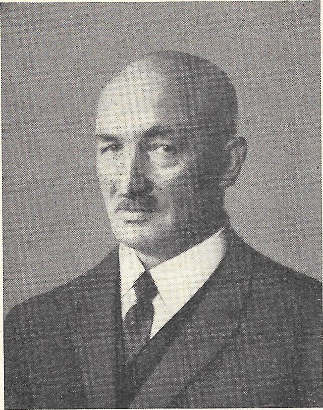 Portrait von Otto Schaufelberger sen., 1892 - 1944.