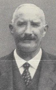 Portrait von Jakob Fischer, Bezirksrichter, Bäretswil, 29. Dez. 1879 - 10. Aug. 1949